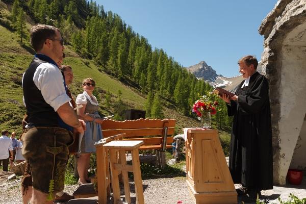 Hochzeit in den Bergen auf der Bimsalm