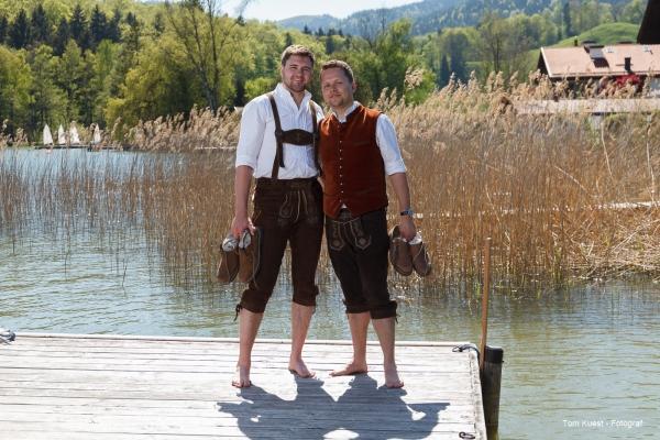 Hochzeitsfoto am Schliersee